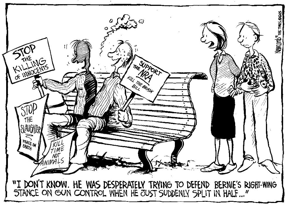 From the Archives: Tim Newcomb cartoon first published in 1991 - COURTESY