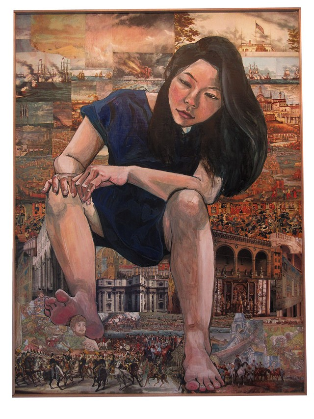 """""""Giant Asian Girl: Self Portrait 3"""" by Misoo - AMY LILLY"""