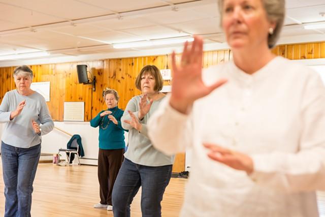 Tai chi at the Heineberg Community Senior Center in 2016 - FILE: OLIVER PARINI