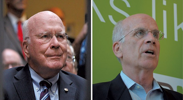 Sen. Patrick Leahy (left), Rep. Peter Welch - FILE