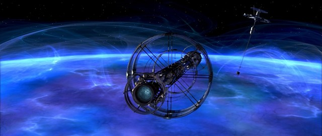 The space station hovers around the mysterious, possibly cognizant planet Solaris. - TWENTIETH CENTURY FOX / LIGHTSTORM ENTERTAINMENT