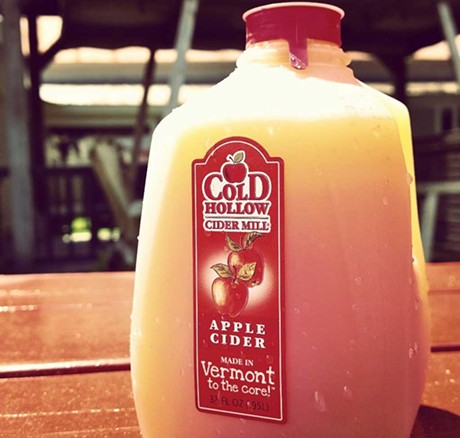 Cold Hollow Cider - COURTESY OF COLD HOLLOW CIDER MILL