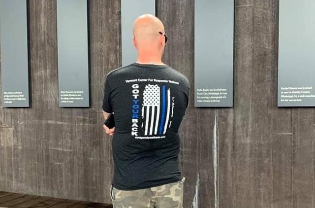 Lt. Justin Couture in Montgomery, Ala. - BURLINGTON POLICE DEPARTMENT