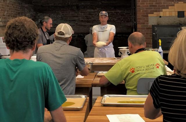 Bread-making workshop at Rise Up Bakery - JORDAN BARRY