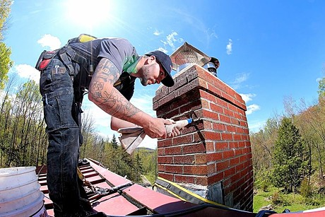 Brickliners Custom Masonry & Chimney Services - COURTESY OF BRICKLINERS CUSTOM MASONRY & CHIMNEY SERVICES