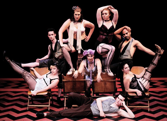 Cabaret cast members - COURTESY OF DANIELLE WIRSANSKY