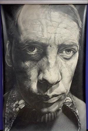 Self-portrait by William Ramage - JON OLENDER