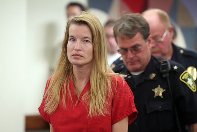 Jody Herring, 40, during an arraignment in Washington Superior Court - TOBY TALBOT, ASSOCIATED PRESS