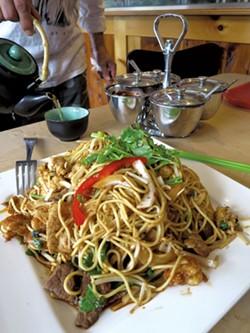 House special - Nepali chow mein - MATTHEW THORSEN