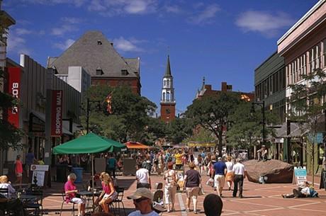 Church Street Marketplace - STEPHEN MEASE