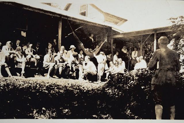Vintage photo of Timberlock