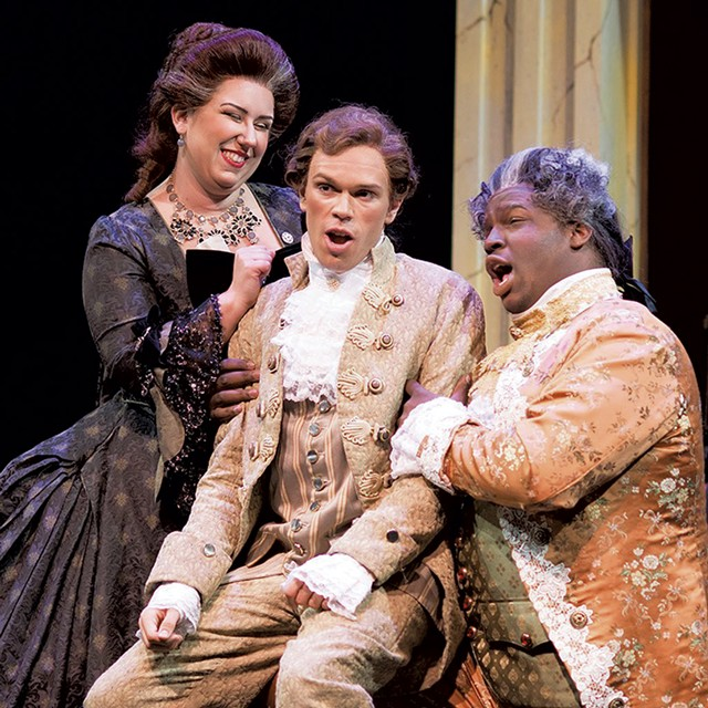 A scene from The Marriage of Figaro - COURTESY OF ALLEN CONROY