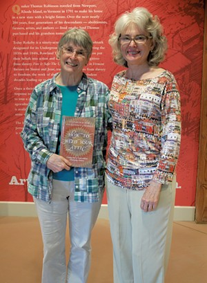 Elizabeth Dow (left) and Lucinda Cockrell - SUSAN LARSON