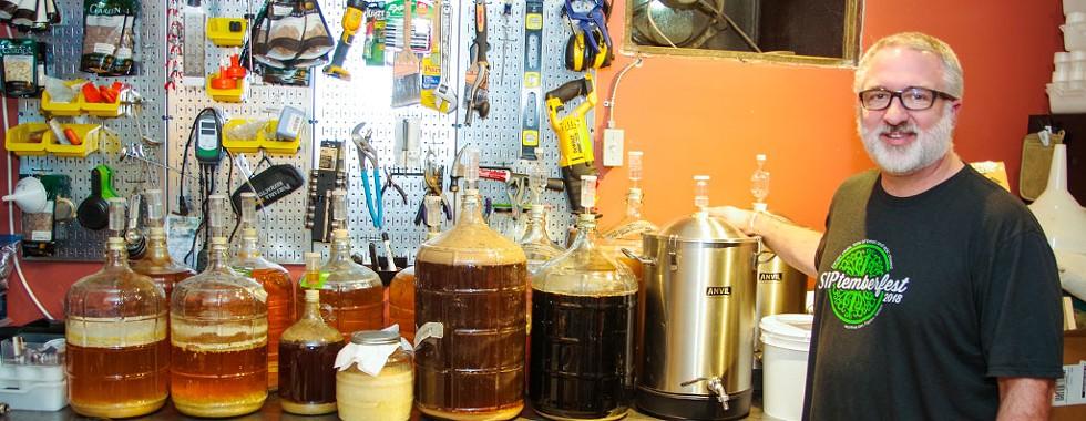 Award-winning brewer Chris Kesler - STEPHEN MEASE