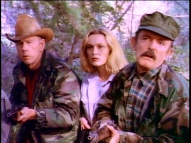 Rance Howard, Cathy Moriarty and John Astin in Runaway Daughters - DRIVE-IN CLASSICS / SHOWTIME NETWORKS