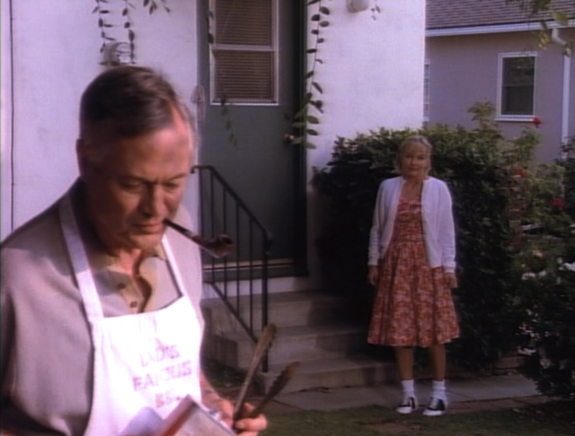 Roger Corman grillin' up some burgers in Runaway Daughters - DRIVE-IN CLASSICS / SHOWTIME NETWORKS