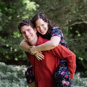 Nicholas Pierce and Julia Luckett Cox