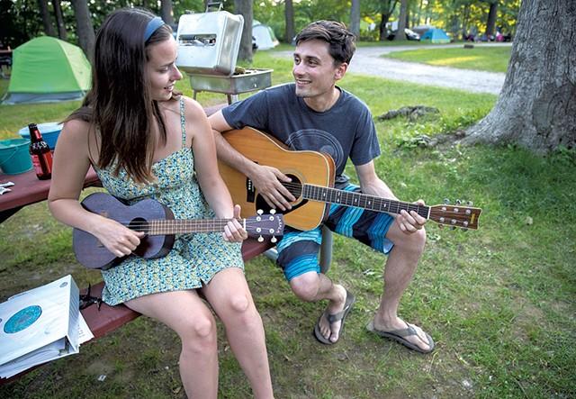 Emily Jillson and Max Cassano - JAMES BUCK