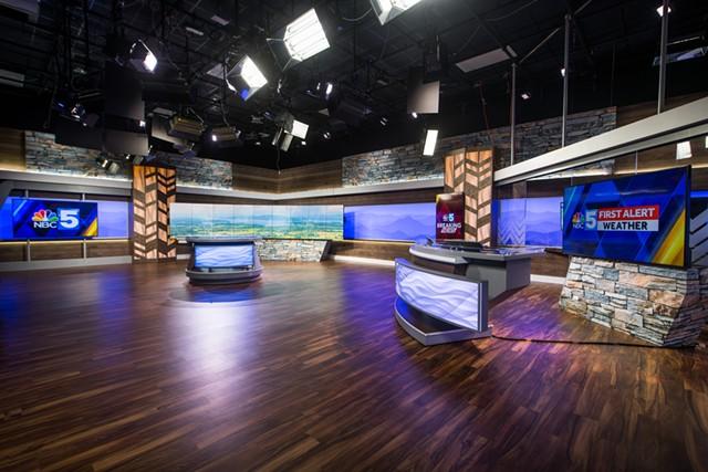 NBC5's new South Burlington studio - NBC5