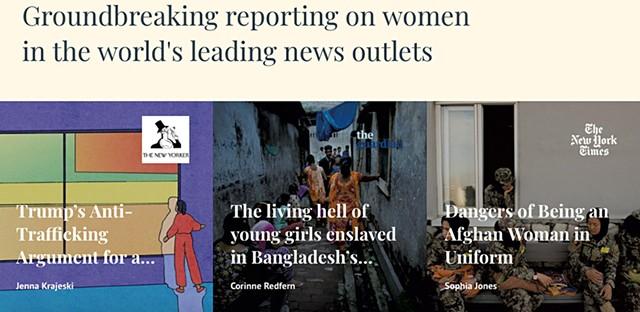Screenshot from fullerproject.org
