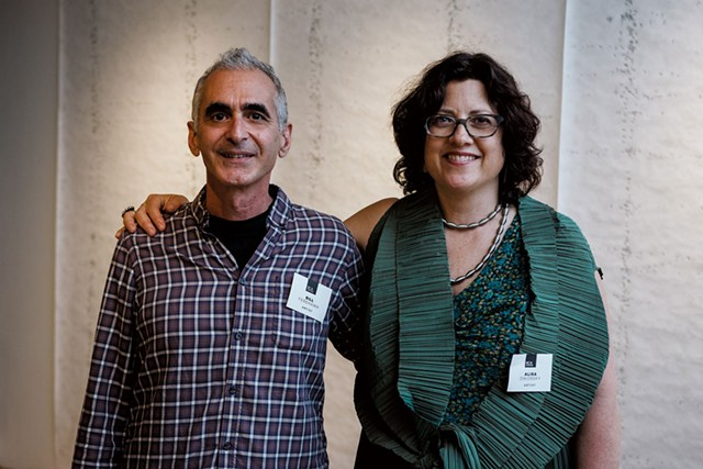 Bill Ferehawk and Alisa Dworsky - COURTESY OF BCA CENTER