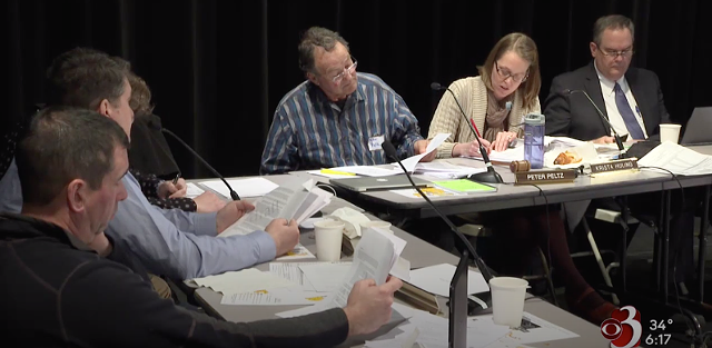 Krista Huling and Vermont's Board of Education - COURTESY OF WCAX