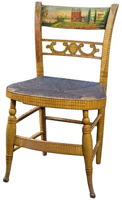 Fancy chair, 1822 - COURTESY OF THE SHELBURNE MUSEUM