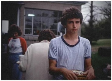 A teenage Daniel Johnston from a home-movie clip in The Devil and Daniel Johnston - COMPLEX / THIS IS THAT PRODUCTIONS