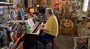 Daniel Johnston in his home studio - COMPLEX / THIS IS THAT PRODUCTIONS