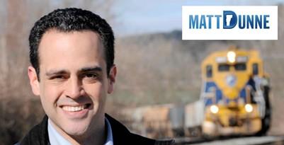 Matt Dunne's campaign website - SCREENSHOT