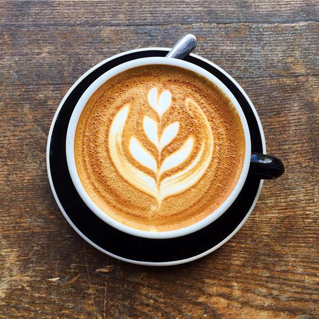 A Cappuccino at Maglianero Café - MATTHEW THORSEN