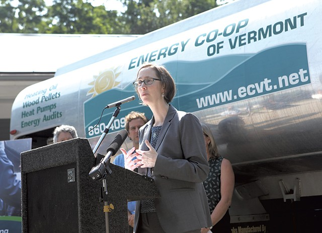 Rebecca Foster, director of Efficiency Vermont - FILE: KATIE JICKLING