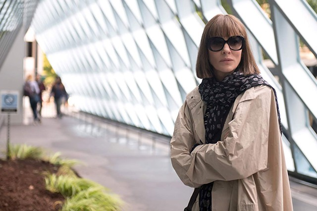 ARCHITECTURAL DIGEST Blanchett plays a wunderkind who lost her - way in Linklater's literary adaptation, which also loses its way.