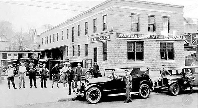 The historic Venetian Ginger Ale bottling plant - COURTESY OF VENETIAN BEVERAGES