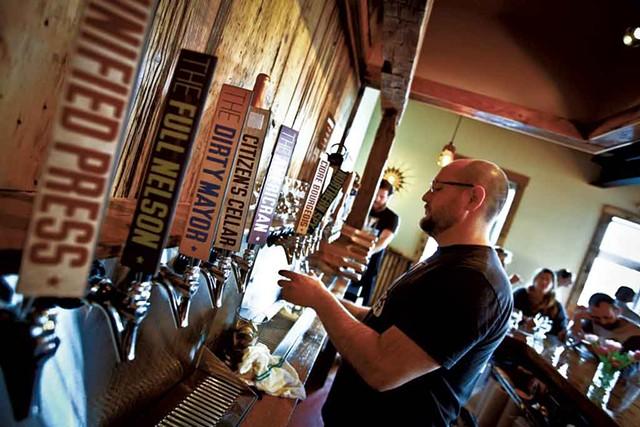 Citizen Cider tasting room - COURTESY OF CITIZEN CIDER