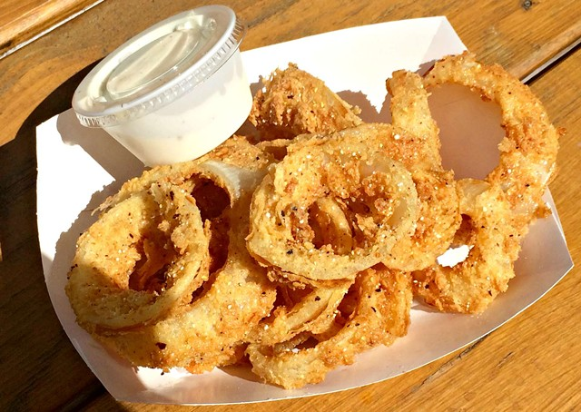 Pint of onion rings, $3.75 - ALICE LEVITT