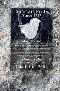 The marble monument - CALEB KENNA