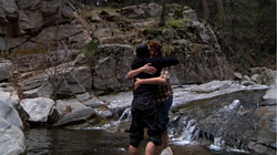 Josef and Aaron share a moment, but their bromance is not to be. - BLUMHOUSE PRODUCTIONS