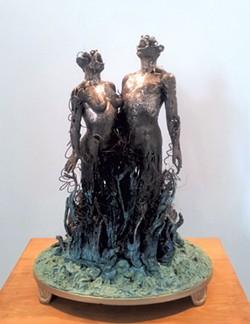 """""""Adam Eve I"""" by Don Ramey - COURTESY OF MAYA URBANOWICZ"""