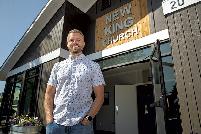 New King Church Pastor Ben Presten - JAMES BUCK