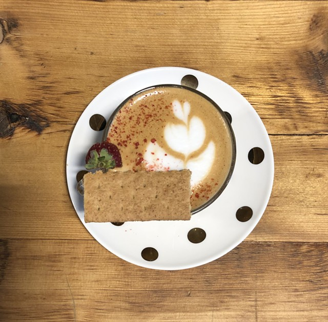 Vermontte special at Brio Coffeeworks - JORDAN BARRY