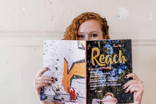 Sara Clark, cofounder of Reach magazine - COURTESY PHOTO