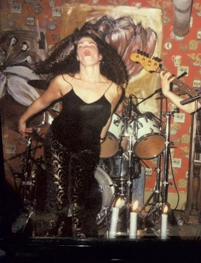 Peg Tassey and Proud of It in 1991