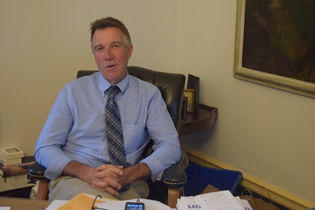 Republican Lt. Gov. Phil Scott plans to announce Tuesday he's running for governor. - TERRI HALLENBECK
