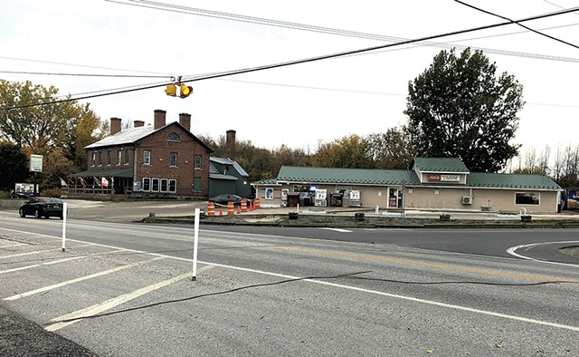 Intersection of Routes 2 and 314 in South Hero - MOLLY WALSH