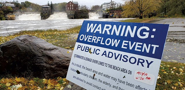 Otter Creek in Vergennes - KEVIN MCCALLUM