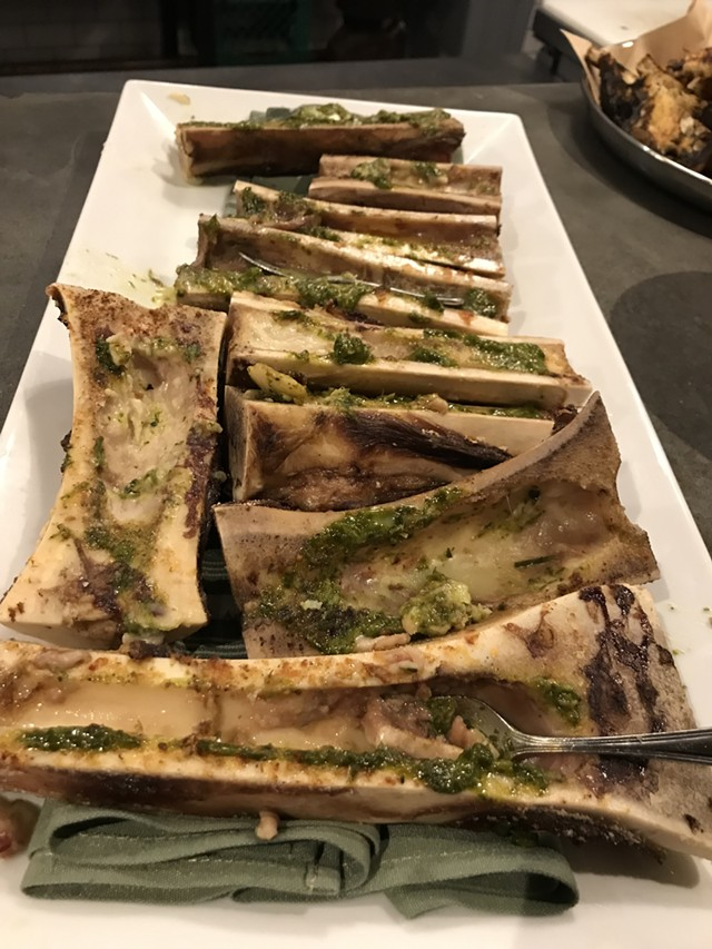 Bone marrow at the Great Northern - SALLY POLLAK
