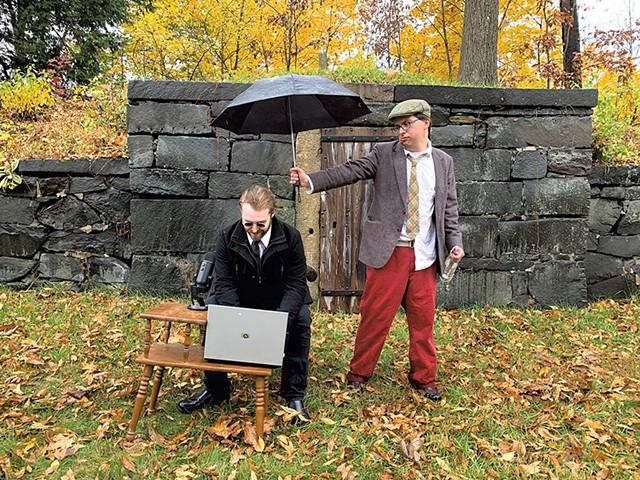 Cody Sullivan (left) and Zach Husband - COURTESY OF TAYLOR K. LONG