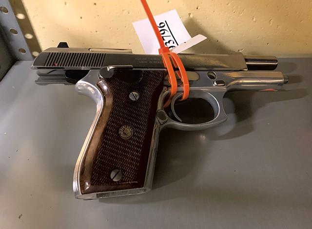 A handgun in state storage - PAUL HEINTZ