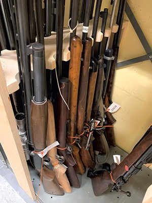 Rifles in state storage - PAUL HEINTZ